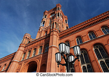 Red Town Hall in Berlin, Germany