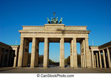 Brandenburger Gate in Berlin Germany