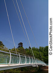 Suspension Bridge - Pedestrian Suspension Bridge, Exeter,...