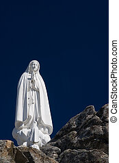 Virgin Mary - Statue of the Virgin Mary (Our Lady of Fatima)...