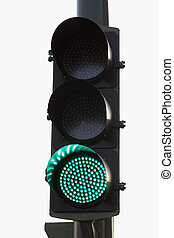 green light - green traffic light