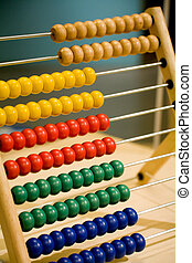 children abacus - colorful children abacus , education...
