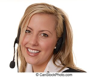 Business Lady - Lovely Business lady working