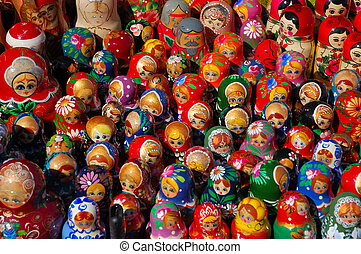 Matryoshka Dolls - Russian Matryoshka Dolls