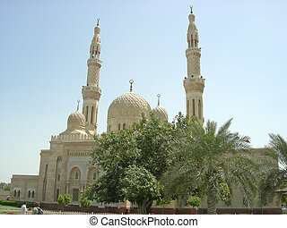 Arabic mosque, Dubai, Arab Emirates - Arabic mosque - Dubai...