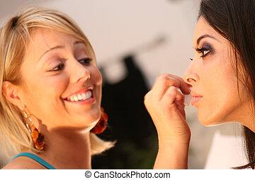 Pro Make-up Artist - Make-up artist and model