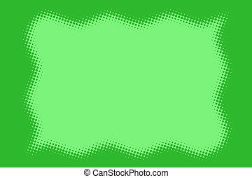 Green Dotted Border - A Green Dotted Border Serves as a...