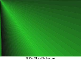 Green Artistic Abstract Design - A Green Artistic Abstract...