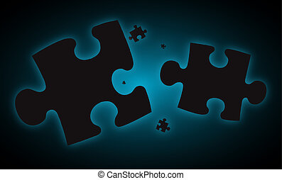 blue haze jigsaw pieces