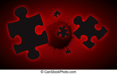red falling puzzle