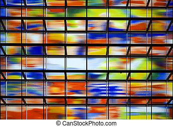 牆, 玻璃,  2