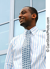 Young businessman - Portrait of a young attractive...
