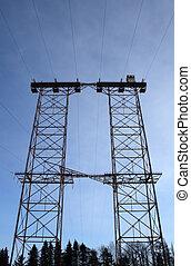 Big double pylon