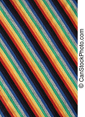 Colorful striped fabric background