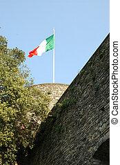 italiano, bandera