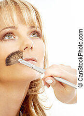 professional makeup art - lovely blond at professional...
