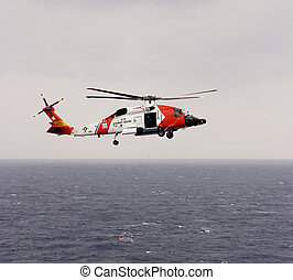 Coast Guard Helicopter - A United States Coast Guard...