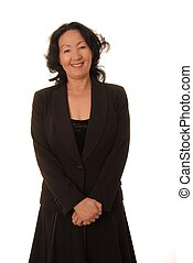 Senior Businesswoman 6 - Portrait of a lovely asian business...