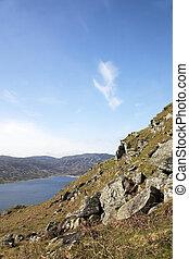 Loch Lednock 1 - Beautiful Loch Lednock near Crieff,...