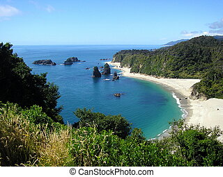 Monro Beach, West Coast of New Zealand\\\'s South Island