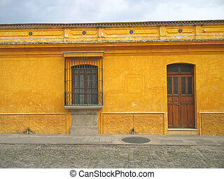 Central america house, Antigua, Guatemala - Central america...