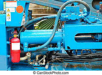 hydraulic machine - a hydraulic machine with cylinder after...