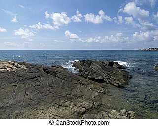 Ocean view - View from the cliffs of Koh Samet in Rayong...