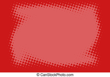 Dotted Red Border - A Dotted Red Border Surrounds Space for...
