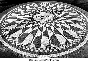 Imagine - Strawberry Fields in Central Park, New York City