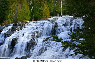Bond Water Falls - Bond water falls in Michigan upper...