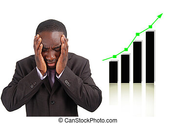 Negative Impact - This is an image of businessman frustrated...