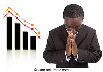 Prosperity Change Prayer - This is an image a businessman...