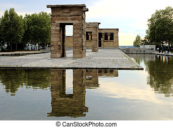 Temple of Debod 1 - Temple of debod in Madrid