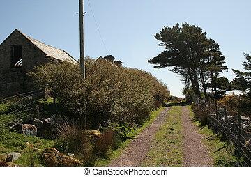 Irish farm track