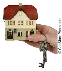Real Estate - estate, real, house, sales, key, home, new