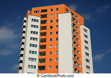Apartment Building in the City