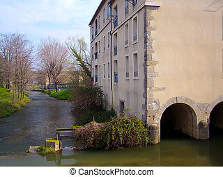The Mill - The old mill at Carcassonne
