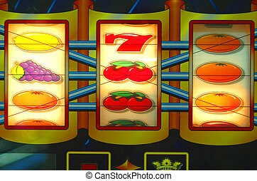 Slotmachine, casino, lack, risk, addiction issues