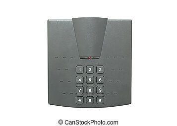 Electronic security lock - Security lock with keypad...