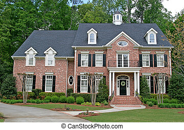 Brick Two Story - A nice brick two story home with...
