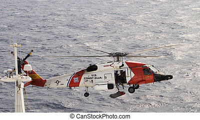 Helicopter Rescue - A helicopter rescue mission. This was...