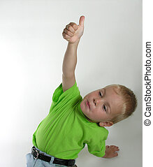 boy with finger ok -           boy