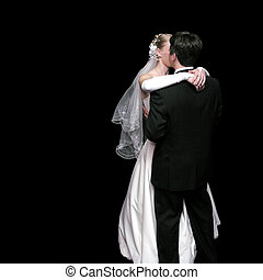 bride and groom dancing in the dark 3