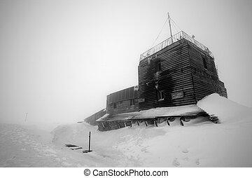 Alpine Meteo Station - Omu Meteo Station, Bucegi Mountains,...