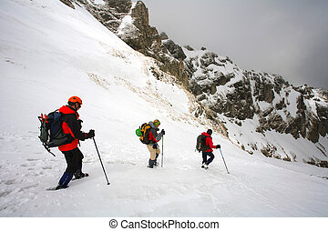 Alpine trekking - Trekking in Bucegi Mountains, Romania