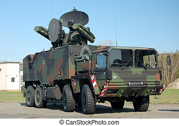 Military Truck - Modern German Military Truck