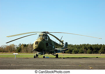 Helicopter Mi-4 - Older Russian Helicopter Mi-4 Hound