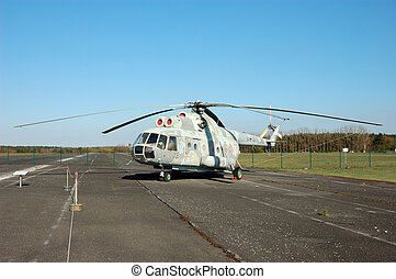 Helicopter Mi-8 - Russian Military Helicopter Mi-8