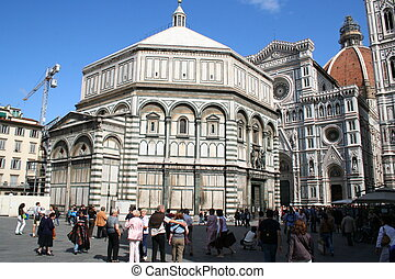 san giovanni florence - You see the Baptistery San Giovanni...