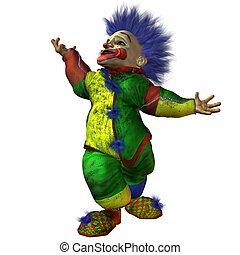 Eddy the Clown - 3D Render